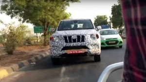 Spy Pics: 2020 Mahindra Scorpio To Feature Drive Mode Selector And New Dashboard