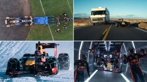 Crazy Things Red Bull Racing Formula One Team Has Done Using An F1 Car