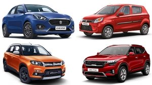 Top-Selling Cars In India For October 2019: Kia Seltos Enters Top-10 As Best-Selling SUV