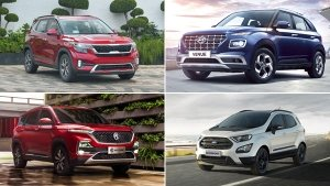 Top-Selling SUVs In India For October 2019: Kia Seltos Dominates SUV Sales In India