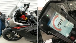 2020 TVS Apache RR310 BS6 Spied With Significant Updates: Spy Pics & Other Details