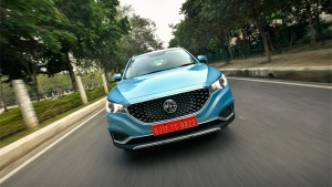 MG ZS EV First Drive Review: The First Pure-Electric Internet SUV In India