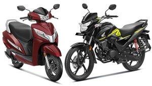 Honda BS-VI Two-Wheeler Sales Achieves New Milestone: Crosses 60,000 Units Since Launch