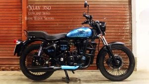Royal Enfield Electra 350 Modified By Guns And Hoses Called XIAV 350