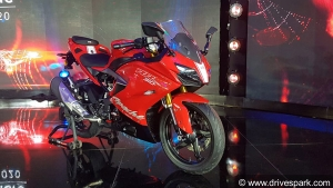 2020 TVS Apache RR310 BS6 Launched In India: Prices Start At Rs 2.40 Lakh