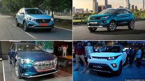 Top Five Electric Cars Launching In India In 2020: eKUV300, e-Tron, Taycan, Nexon EV, & The MG ZS EV