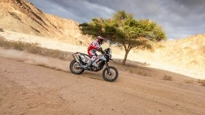 Dakar 2020 Stage 5 Highlights: Sherco TVS Rally Team Inches Towards Top 10 Standings