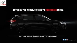 Great Wall Motors Confirms Debut At Auto Expo: Will Unveil Haval Concept H, Concept Vision 2025