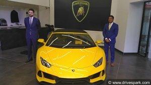 Lamborghini Inaugurates New Dealership At Bangalore: Showcases Huracan Evo Spyder At Opening