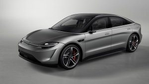 CES 2020: Sony Unveils All-Electric Vision-S Concept Car