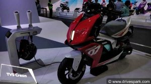 New TVS Electric Scooter (Creon) Spied Testing In India For The First Time: Spy Pics & Details