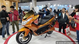 Auto Expo 2020: Okinawa Cruiser Maxi-Scooter Unveiled - Expected Launch Date, Specs, Features, Image