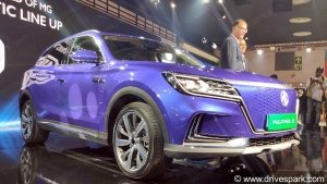 Auto Expo 2020: MG Marvel X EV Unveiled - MG's First Model To Achieve Level-3 Intelligent Driving