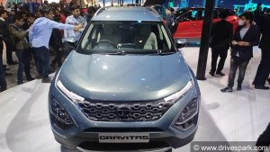 Auto Expo 2020: Tata Gravitas SUV Unveiled - Expected Launch Date, Prices, Specs & Images