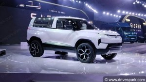 Auto Expo 2020: Tata Sierra EV Concept Unveiled - The Sierra Is Back In A New Avatar!