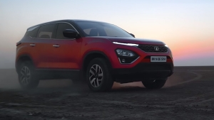 Tata Harrier Petrol Variant Spied Testing Ahead Of Launch: Spy Pics & Details