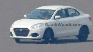 Maruti Suzuki Dzire Facelift Spied Testing Ahead Of Launch: Spy Pics & Details