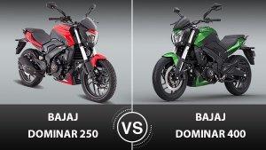 Bajaj Dominar 250 Vs Bajaj Dominar 400: Here Is A Brief Comparison Between The Siblings