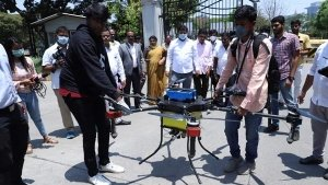 Drones Used In Different Cities To Disinfect Coronavirus Across India
