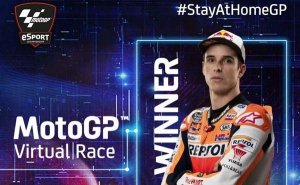 MotoGP 2020: Alex Marquez Wins First Ever #StayAtHomeGP Virtual Race Amid Covid-19 Pandemic