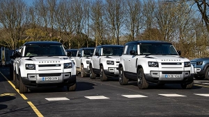 Land Rover Defender SUVs Have Been Deployed To Fight Against The COVID-19 Pandemic