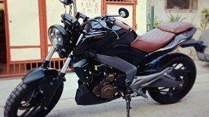 Bajaj Dominar 400 Modified By MC Customs Ph: Renamed Lino