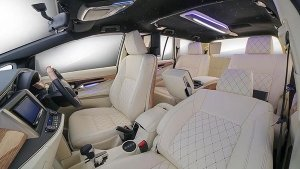 Madhuri Dixit's Innova Crysta Modified By DC Designs With Ultra Luxury Interiors