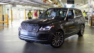 First Range Rover Under Social Distancing Measures Leaves The Production Line