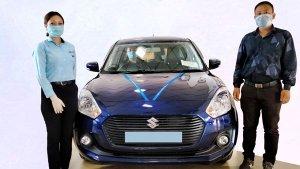 Maruti Suzuki Register Over 5000 Units Of Vehicle Deliveries Post Lockdown In India