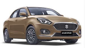 New Maruti Suzuki Dzire Spotted At Dealer Yard For First Time Since Launch