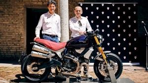 Ducati Unveils The Limited Edition Scrambler 1100 Sport Pro