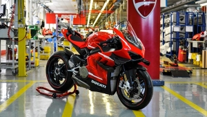 Ducati Commences Production Of The Superleggera V4