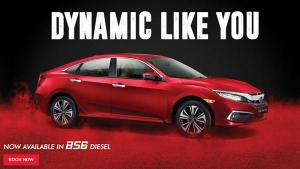 Honda Civic BS6 Diesel Bookings Commence Ahead Of India Launch