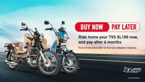 TVS XL 100 New EMI Scheme Launched: 'Buy Now Pay After Six Months'