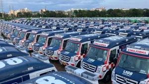 Force Motors Delivers 1,000 Force Traveller Ambulances To Government Of Andhra Pradesh