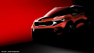 Kia Sonet SUV First Production-Ready Teaser Image Released Ahead Of World Premiere