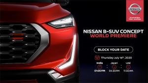 New Nissan Compact-SUV World Premiere Date Revealed: Upcoming B-SUV Concept To Rival Hyundai Venue