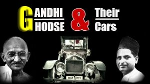 Mahatma Gandhi And Ghodse's Cars Together