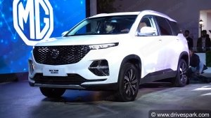 MG Hector Plus Bookings Open Officially For Rs 50,000: India Launch Expected In The Coming Weeks
