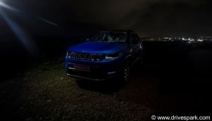 2021 Facelifted Jeep Compass Interior Spy Shots Revealed: Details & Specifications