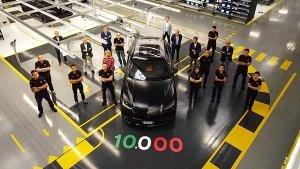 Lamborghini Urus Achieves 10,000 Units Production Milestone: Here Are All Details