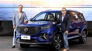 MG Hector Plus SUV Launched In India: Prices Start At Rs 13.48 Lakh