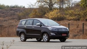 Toyota Innova Crysta CNG Variant Spotted Testing Sans Camouflage: Spy Pics And Details