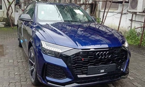 Audi RS Q8 Spotted Arriving At Dealerships Ahead Of India Launch This Month