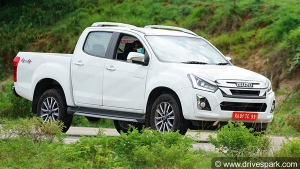 Isuzu V Cross BS6 Production Ready Model Spotted Testing Ahead Of Launch: Spy Pics