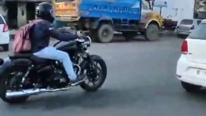Royal Enfield 650cc Cruiser Spotted Testing In Chennai Revealing New Details: Spy Pics