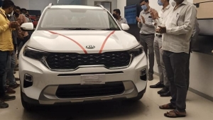 Kia Sonet Deliveries Commence For First Batch Customers Across India