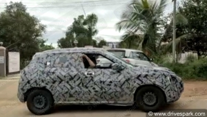Nissan Magnite Compact SUV Spotted Testing Once Again: Details & Specifications
