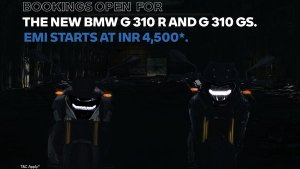 BMW G 310 R & G 310 GS BS6 Low EMI Finance Scheme Introduced Ahead Of Launch