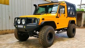Mahindra Bolero Invader Modified With A New Engine & More: A Three-Door Monster Truck